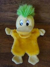 """EDD THE DUCK BBC marionnette à main Squeaky bec Très bon état VINTAGE 12"""" Moelleux Jouet 1990"""