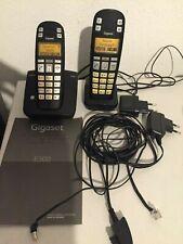 Siemens Gigaset E300 Mobilteil + Ladeschale+Gigaset E300 Basisstation Anleitung
