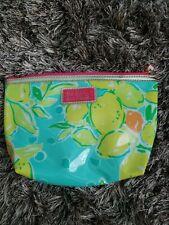 Lilly Pulitzer For Estee Lauder Makeup Bag Lemons Oranges Limited Edition RARE