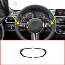 Carbon Fiber Steering Wheel Frame Cover for BMW M3 M4 M5 New 1 3 series X5M