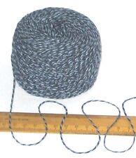 50g ball China Blue shades Marl knitting wool 4 ply Cotton & Acrylic yarn 3.5nm