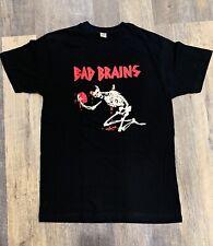 Bad Brains Band T-Shirt Rock Punk Metal Reggae Alternative Skeleton