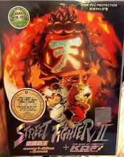 English Dub ~ Street Fighter II (1-29End + 3 Movie + King Of Fighters) ~ 3-DVD ~