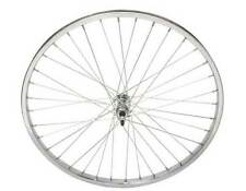 "Bicycle 26"" x 1.75"" Steel Rear Freewheel Wheel 36 Spoke 12g 3/8 Axel Chrome Bike"