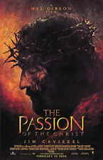 The Passion Of The Christ Movie Promo Poster James Caviezel Monica Bellucci
