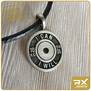 Fitness Jewelry Bodybuilding Weight Plate Pendant Barbell Sport Jewelry Gym Gift