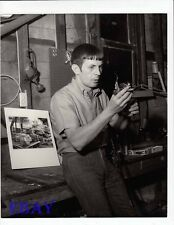 Leonard Nimoy candid Photo from Original Negative