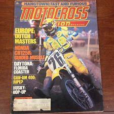 JULY 1980  MOTOCROSS ACTION DAYTONA CR125 MARTY SMITH  250 CR KX RM YZ VINTAGE