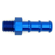 M10x1.0 METRIC to 7mm 8mm (5/16) BARB PUSH HOSE TAIL Straight Oil Fuel Adapter