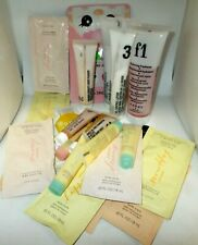 25 ASSORTED Brand Sample Packets And Trial Size Beauty Items - See All Photos
