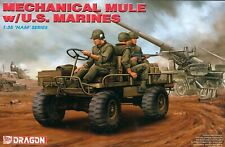 Dragon 1/35 Scale US Mechanical Mule w/US Marines Nam Series Kit No. 3317