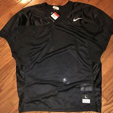 Nike Football Velocity 2.0 Jersey Black Men's Sz Large 659179-010 Msrp $45
