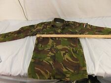 BDU COLLECTIBLE DUTCH Military Netherlands Army Woodland Camouflage Jacket 32818
