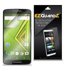 2X EZguardz LCD Screen Protector Cover HD 2X For Motorola Moto X Play (Clear)