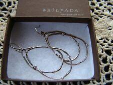 """""""Constellation"""" Earrings W2268 Silpada Sterling Silver Cz"""
