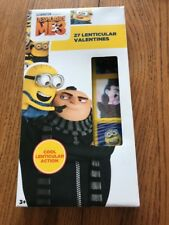 Despicable Me3 17 Lenticular Valentines By Illumination Ships N 24h