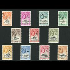 TRISTAN DA CUNHA 1960 Short Set to 1s. Fish. SG 26-38. Fine Used. (WF024)