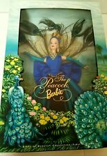 BARBIE BIRDS OF BEAUTY COLLECTION 1ST IN SERIES PEACOCK DOLL NIB NRFB 1998