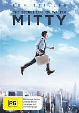 The Secret Life Of Walter Mitty (DVD, 2014) VGC Pre-owned (D105)