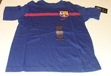 Team Barcelona FC 2014-15 Core Tee Shirt Soccer Blue XS Youth Boys Spanish