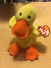 fce4bd5b996 1ST GENERATION TY BEANIE BABY 1993 QUACKERS THE DUCK RARE FIND
