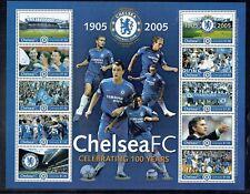 Grenada 2005 Chelsea Football Club set in sheetlet unmounted mint