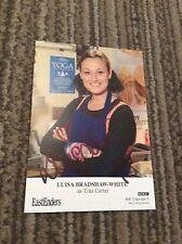 LUISA BRADSHAW-WHITE (EASTENDERS) SIGNED CAST CARD