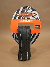 Maxxis Cormet • Bicycle Tire • 700x23 • Black • Folding • ONE70 / 170 TPI • NEW!