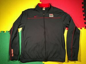 USA National Basketball Team Nike Warm-Up Jersey Men's Size XLT Made in USA Nice