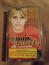 Aaron Carter:  Oh Aaron (Cassette, 2001, ) NEW SEALED