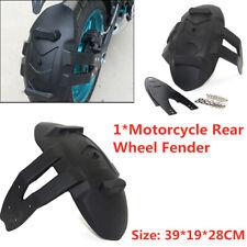 "14-18"" Rear Tire Fender  Motorcycle Wheel Splash Guard Protect Mud Cover Kit x1"
