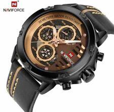 NAVIFORCE Men's Waterproof Quartz Sport Wrist Watches