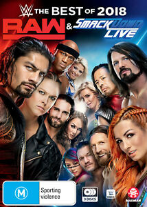 WWE: Best of Raw & Smackdown 2018 (DVD) NEW & SEALED