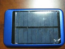 Blue Solar 10000mAh Portable USB External Battery Charger Power Bank Cell Phone