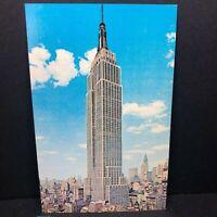 Vintage Postcard New York City Empire State Building
