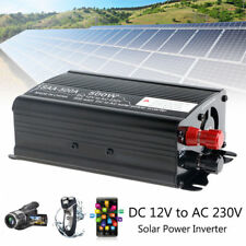 500W Solar Continuous Inverter 12V DC To 230V AC Modified Sine Wave Converter