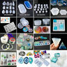 Silicone Pendant Mold Jewelry Making Resin Mould Epoxy Casting Craft Tool DIY
