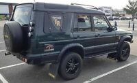 LandRover Discovery 2 Gullwing kit right hand side Tuff-rok