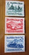 EBS Germany 1939 International Auto Show Berlin Volkswagen Michel 686-688 MNG