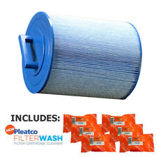 Pleatco Pas50Sv-F2M-M Antimicrobial Filter Cartridge w/ 6x Filter Washes