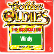 """THE ASSOCIATION  Windy & Never My Love PICTURE SLEEVE 7"""" 45 rpm vinyl record NEW"""