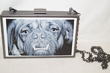 Buffalo Clutch Bulldog to Late 16,5 10 3,5cm Frame Faux Leather Filling