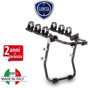 Portabici per Lancia YPSILON Y Sportello Posteriore Da Auto Trasporto 3 Bici