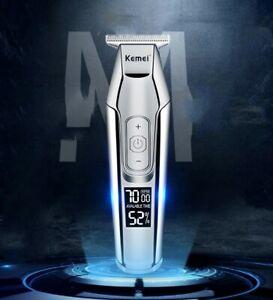 Kemei KM- 5027, L-ion Beard Trimmer, Detailer, fade, Titanium Blade, 4 speed