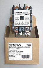 Genuine Siemens 42BF15AJ Contactor 30 Amp 2 Pole 24 Volt FREE PRIORITY MAIL SHIP