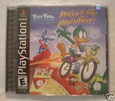 TINY TOONS PLUCKY'S BIG ADVENTURE PS1 BRAND NEW, SEALED