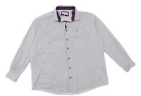 Drifter Mens Size 3XL Cotton Blend Striped Purple Formal Shirt