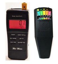 K 2 Deluxe EMF GHOST HUNTING METER detector + MEL METER 8704R 3 in 1 INSTRUMENT