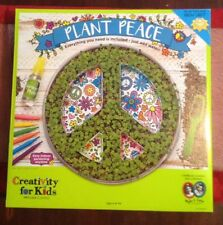Creativity for kids, Plant Peace Chia Craft, Just Add Water. New.