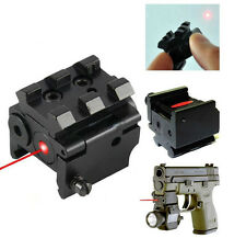 Outdoor Hunting Mini Red Dot Laser Sight Scope 20mm Picatinny Rail Mount New